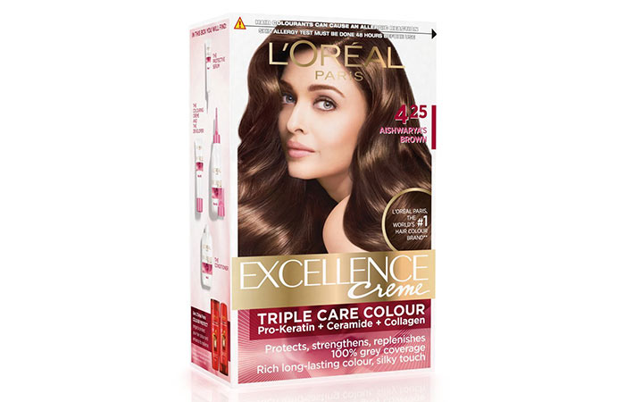 Best L'oreal Hair Color Products - Aishwarya's Brown 425