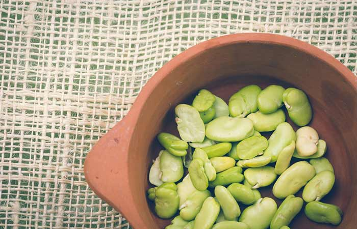 Food Rich In Phosphorus - Lima Beans