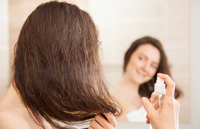 Beauty Tips To Follow In Summers - Spritz Your Scalp
