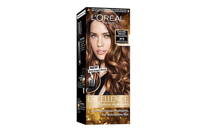 Best L'oreal Hair Color Products - Caramel Brown Highlights No. 6