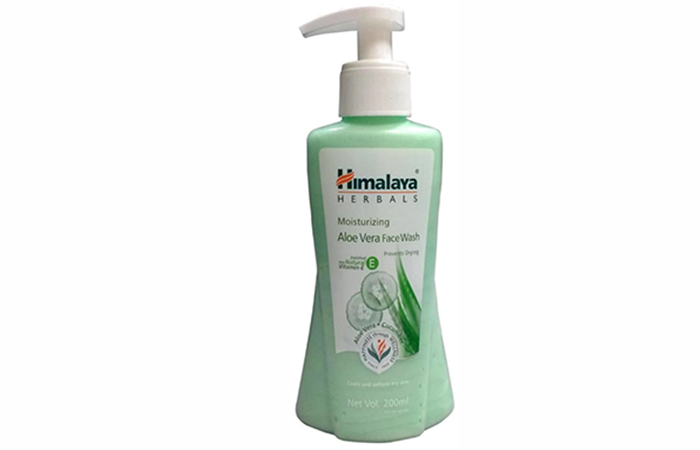Himalaya Herbals Moisturizing Aloe Vera Face Wash - Best Face Washes
