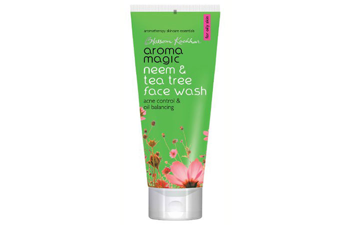14. Aroma Magic Neem and Teatree Face Wash