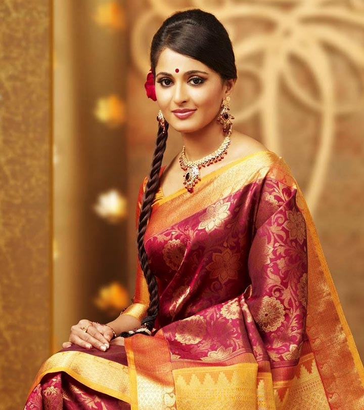 Beautiful South Indian Hairstyles For Girls
