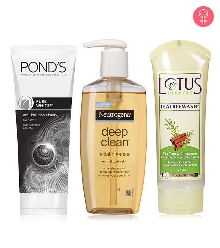 15 Best Face Washes For Oily Skin