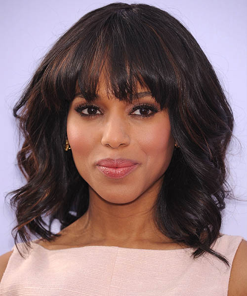 15. Long Bob With Wispy Bangs
