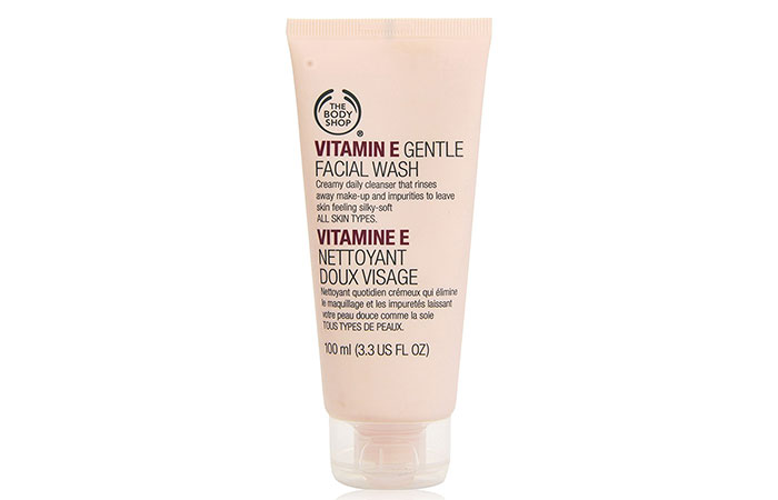 16. The Body Shop Vitamin E Gentle Face Wash