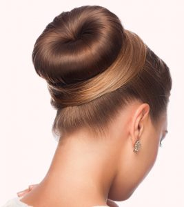 How To Do A Donut Bun – Pictorial
