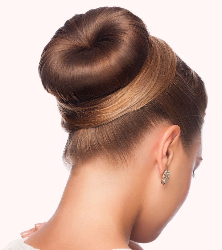How To Do A Donut Bun Pictorial