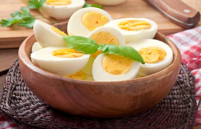 Food Rich In Phosphorus - Eggs