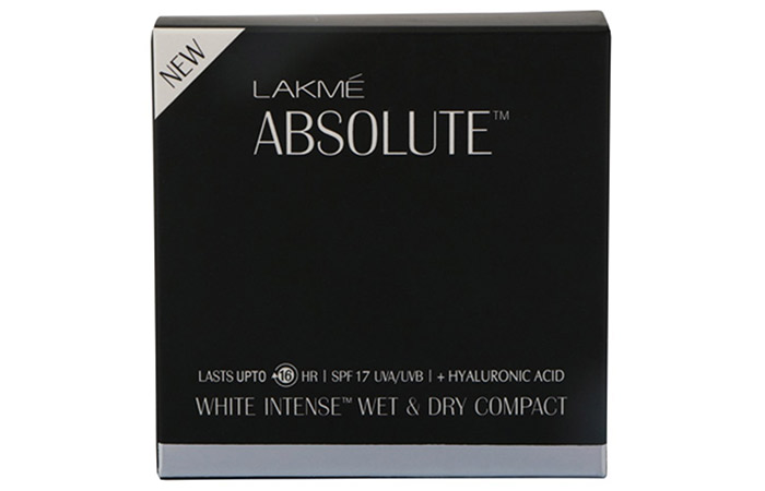 Lakme Absolute White Intense Wet and Dry compact