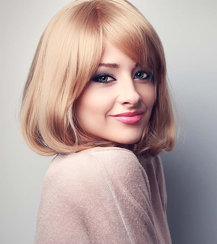 Trendy Messy Bob Short Haircut