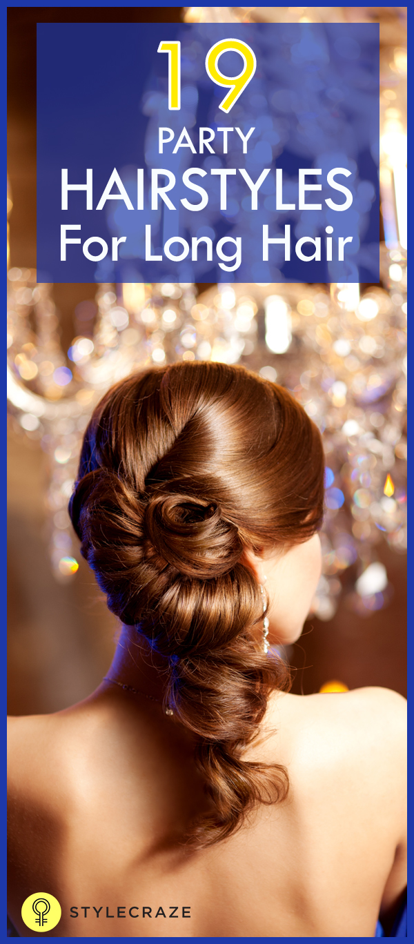 Hairstyles For Long Hair Home : Party hairstyles for long hair