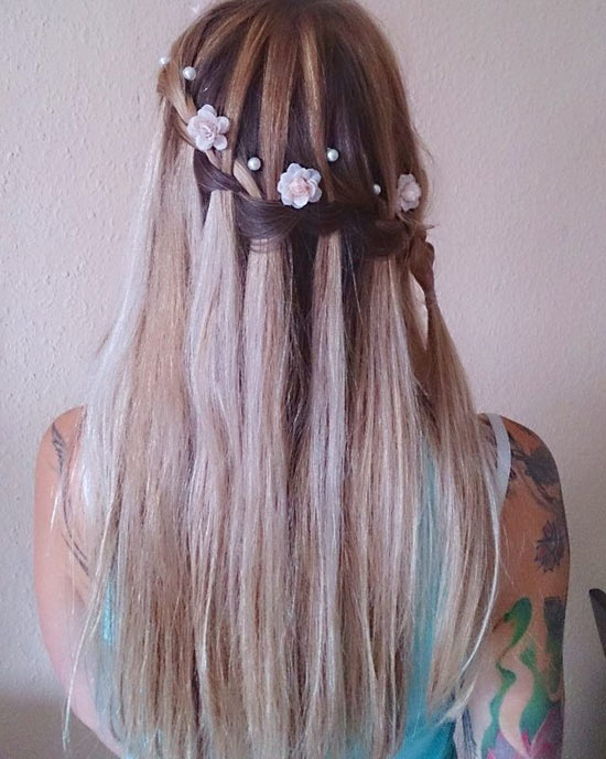2. Waterfall Braid