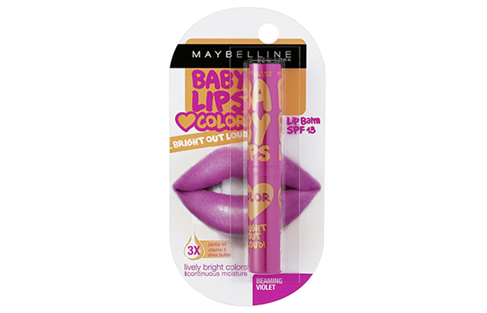 Maybelline Baby Lips: Beaming Violet - Maybelline Lip Balms