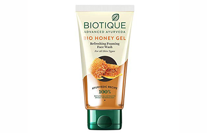 Biotique Bio Honey Gel Refreshing Foaming Face Wash - Best Face Washes