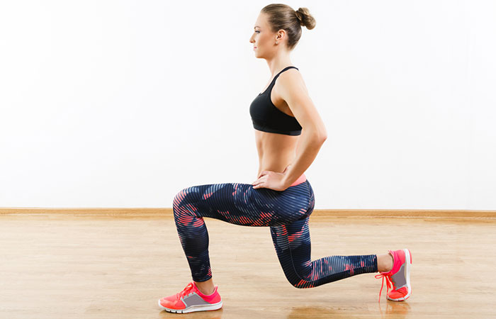 Isometric Exercises - Static Lunge