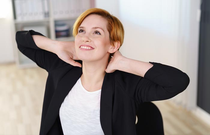 Isometric Exercises For The Neck - Neck Stretch