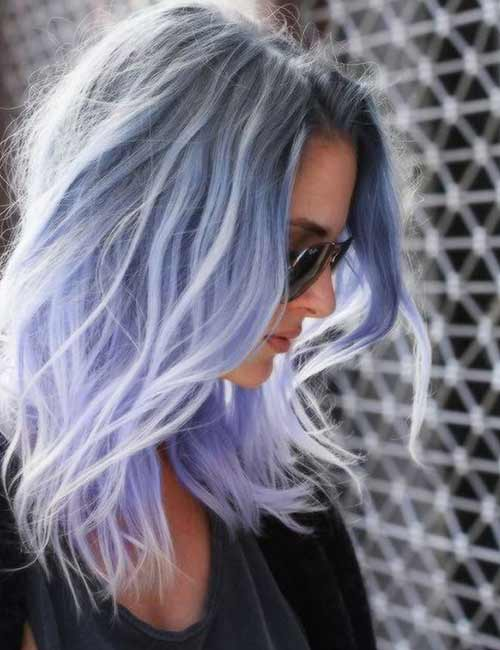 30 Beautiful Hairstyles For Shoulder Length Hair