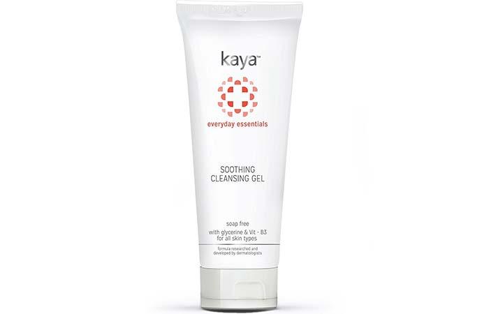 Best Skin Whitening Face Washes - Kaya Soothing Cleansing Gel