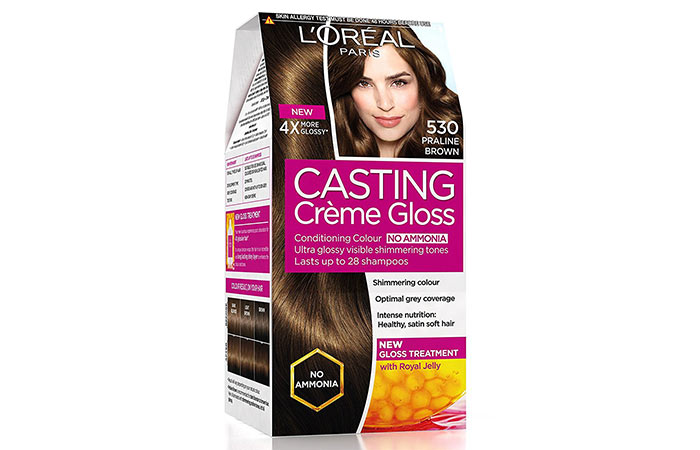 Best L'oreal Hair Color Products - Praline Brown 530