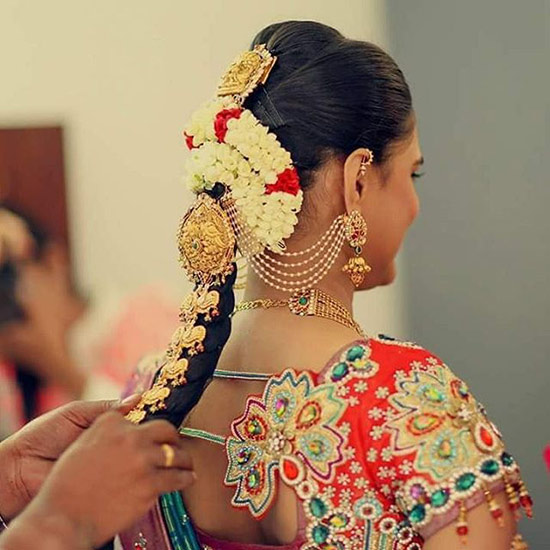 3. The South Indian Style Braid