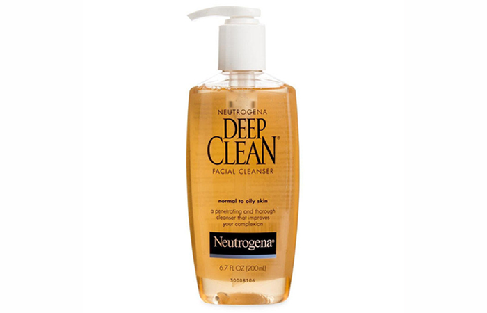 Neutrogena Deep Clean Facial Cleanser - Best Face Washes