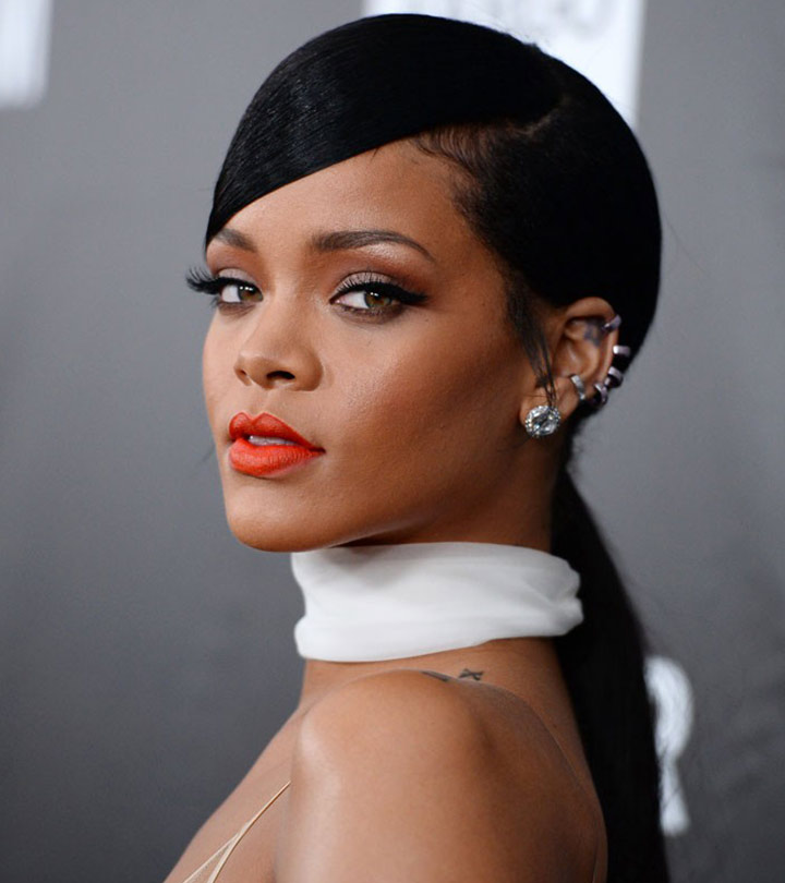 How Do Celebrities With Diamond Face Shape Style Their Hair?