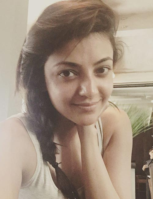 Kajal Agarwal in A Relaxed Night-In