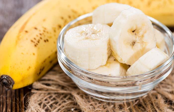 4. Banana And Egg For Hair Growth