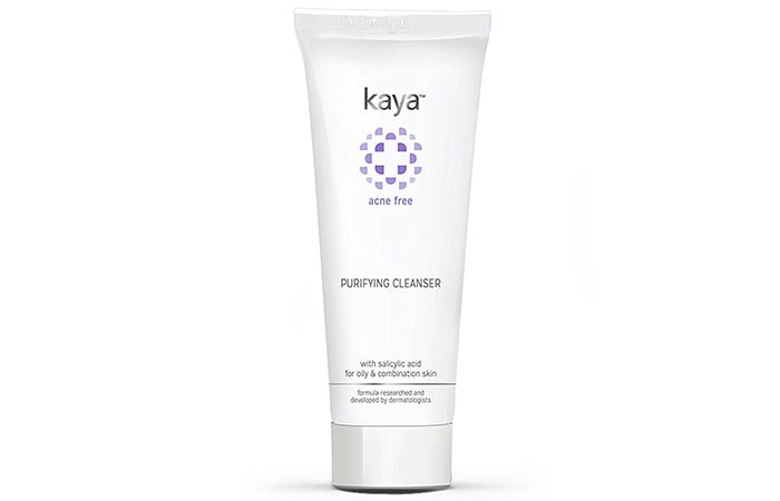4. Kaya Acne Free Purifying Cleanser