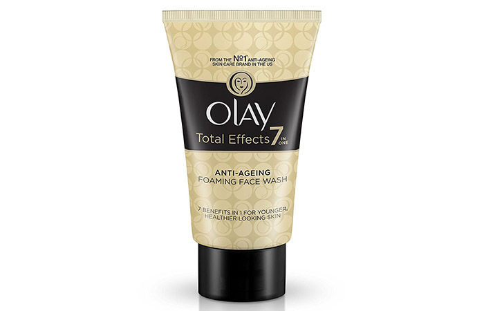4. Olay Total Effects 7-In-1 Anti Aging Foaming Face Wash Cleanser