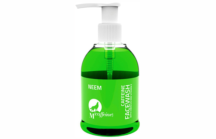 MCaffeine Neem Face Wash - Best Face Washes