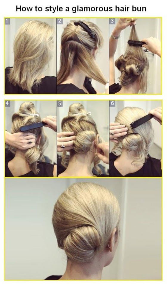 40-Stylish-Updos-For-Medium-Hair19