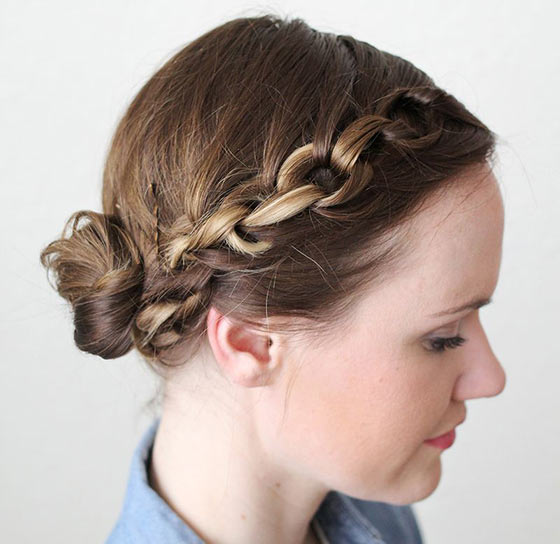 40-Stylish-Updos-For-Medium-Hair21