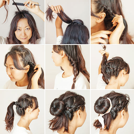 Stylish Updos For Medium Hair