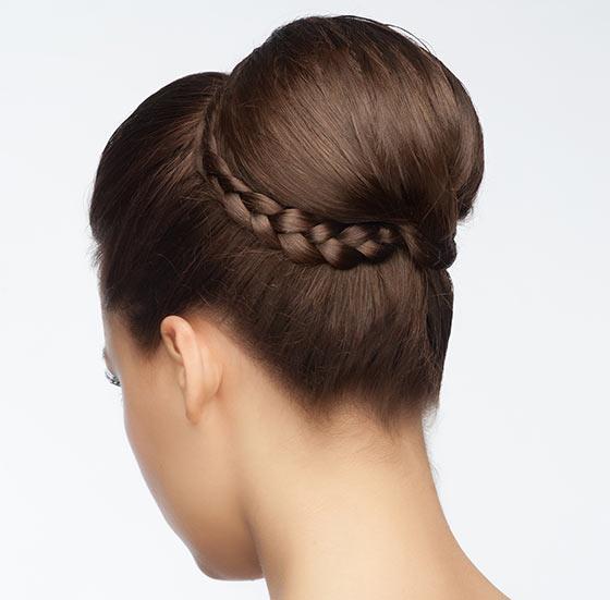 40-Stylish-Updos-For-Medium-Hair24