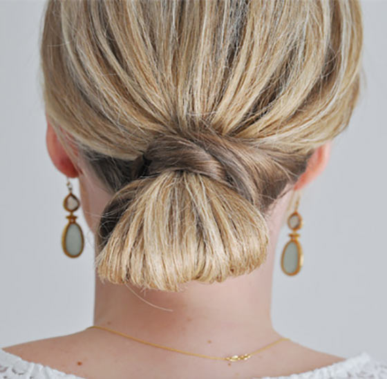 40-Stylish-Updos-For-Medium-Hair26