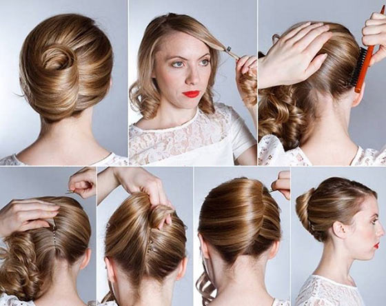 40-Stylish-Updos-For-Medium-Hair31