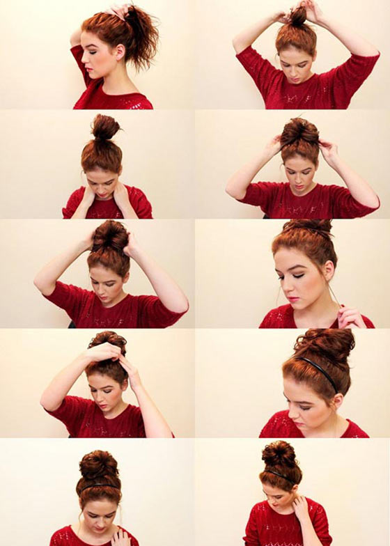 40-Stylish-Updos-For-Medium-Hair34