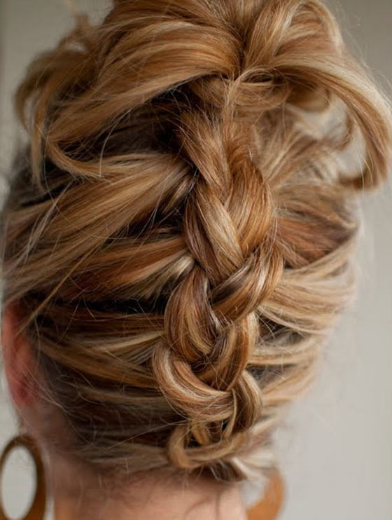 40 quick and easy updos for medium hair 40 stylish updos for medium hair39 pinit solutioingenieria Choice Image