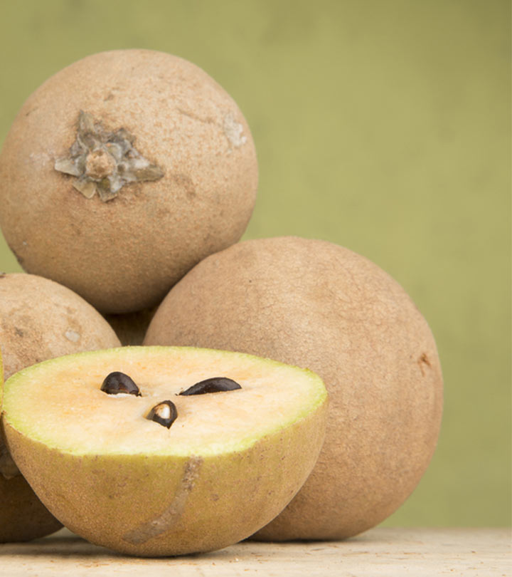 25 Amazing Benefits and Uses Of Sapota (Chikoo) For Skin ...