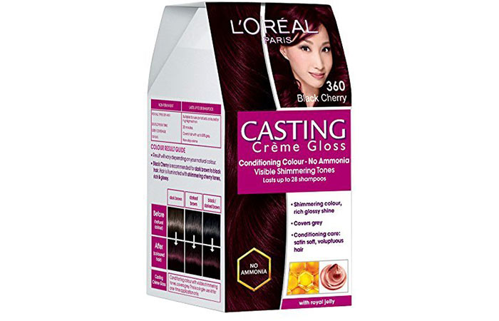 Best L'oreal Hair Color Products - Black Cherry 360