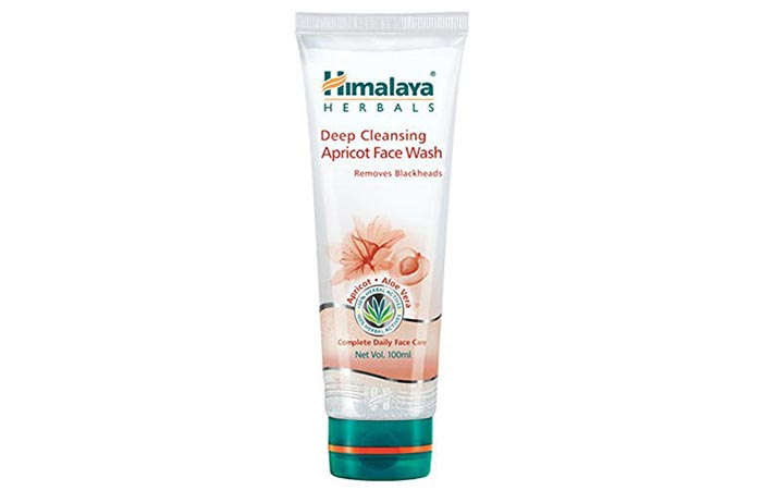 5. Himalaya Herbals Deep Cleansing Apricot Face Wash
