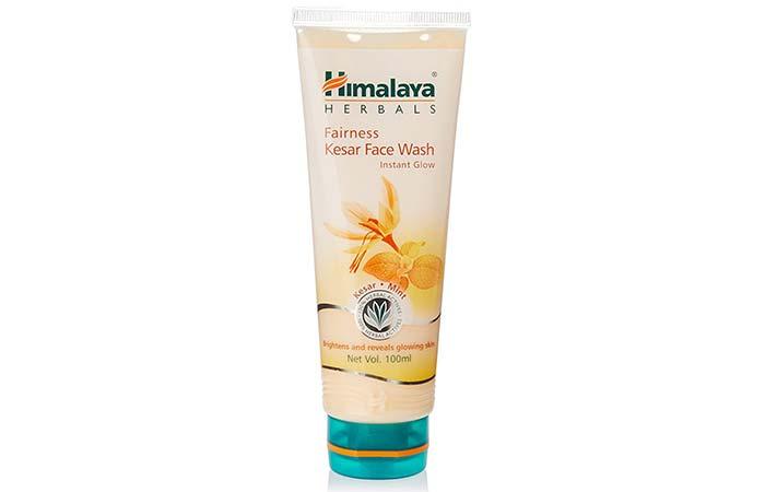 5. Himalaya Herbals Fairness Kesar Face Wash