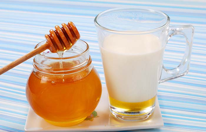 5. Milk And Honey For Hair Straightening