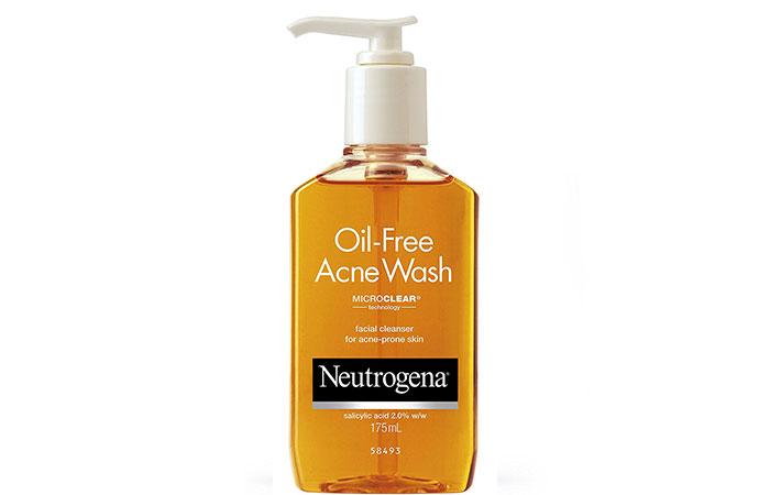 5. Neutrogena Oil-Free Acne Face Wash