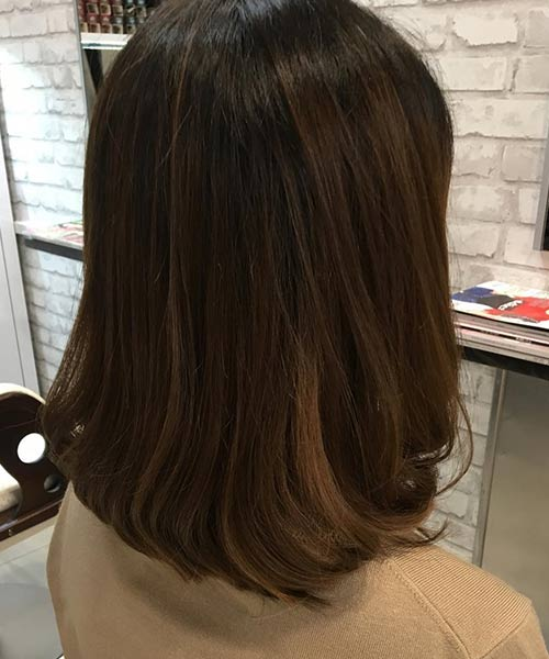 5. Rounded Edges Long Bob