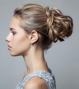 70 Pretty Updos For Short Hair – 2019