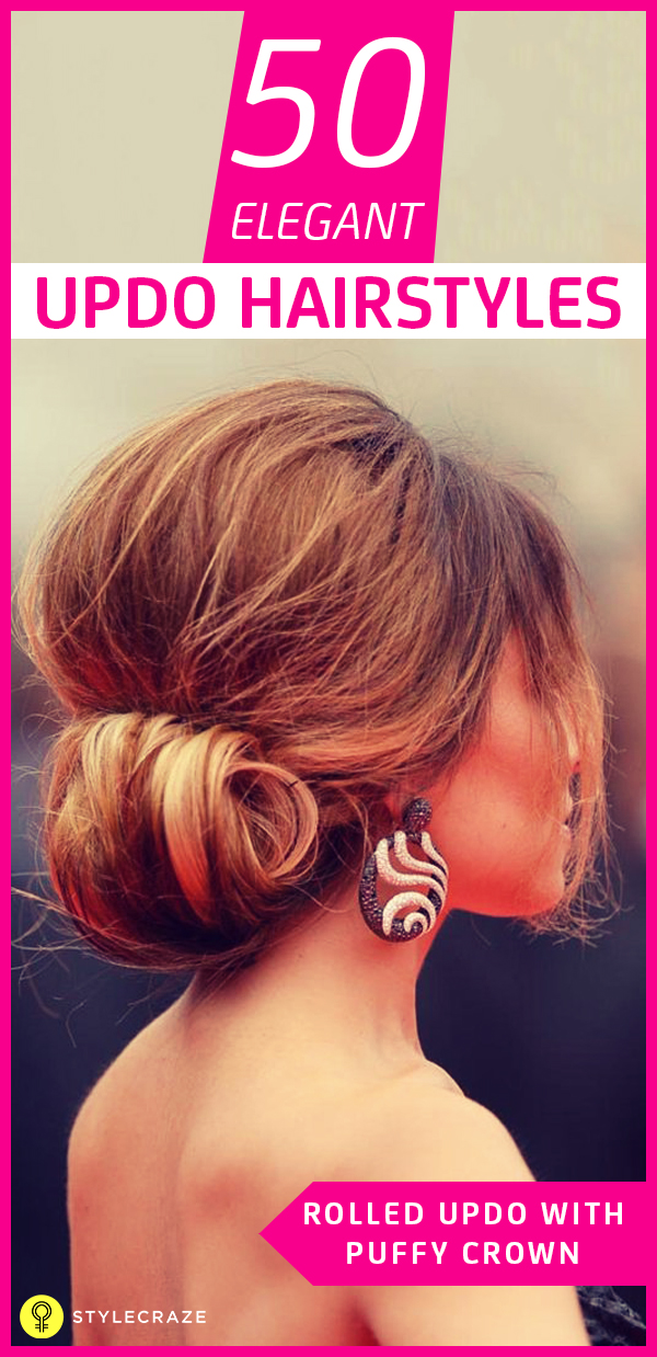 50 Gorgeous Short Updo Hairstyles