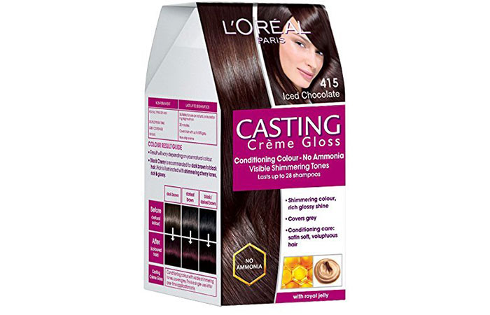 Best L'oreal Hair Color Products - Iced Chocolate 415